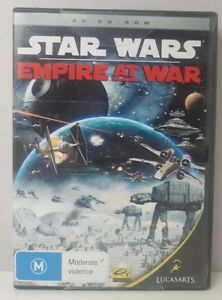 Star Wars Empire At War Pc CD-ROM NEW