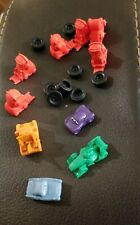 Monopoly CARS 2 Edition ~ Lot of 18 (14 Houses and Hotels) 4 Tokens Replacement