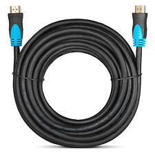 25FT Feet HDMI Cable High Speed Premium 1.4 1080P Male HDTV PS3 DVD LCD xBox