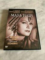 "DVD ""MATA HARI"" GRETA GARBO RAMOND NOVARRO FRITZ MAURICE VENDITA AUDIO ITALIA"