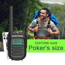 Zastone Mini9 UHF 400-470mHz Walkie Talkies Transceiver Two Way Radio