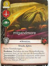 A Game of Thrones 2.0 LCG - 1x #164 Rhaegal dt. - Base Set - Second Edition