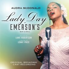 Lady Day At Emerson's Bar & Grill / O.B.C.R. - Audra  (2014, CD NIEUW)2 DISC SET