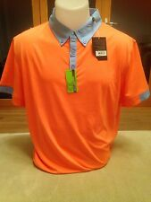 Callaway Men's Golf Polo Shirt Fresh Salmon Slim Fit Brand New