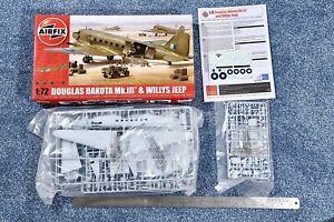 Airfix 1:72 Douglas Dakota Mk.III & Willy's Jeep kit#09008