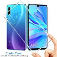 COVER per Huawei P30 / Lite / Pro CUSTODIA Soft TPU Silicone SLIM Trasparente