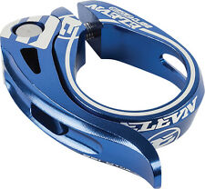 Elevn BMX Aero Quick Release Seat Post Clamp 31.8mm Blue