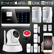 8218G GSM SMS PSTN système alarme sécurité,caméra IP 720P,PIR immunitaire animal