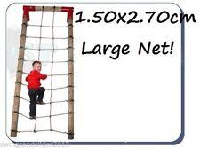 XXL Scramble Net 1.50 x 2.70m Strong CLIMBNET for Climbing Frame FREE P&P!