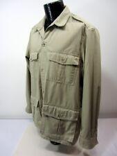 Tilley Endurables Men's L Safari Beige Khaki Bush Button Up Jacket