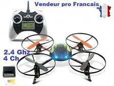 RC DRONE 4Ch 2,4Ghz Radiocommandé UFO4 6044 Quadrocoptère télécommande écran LCD