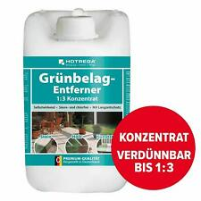 Hotrega 5L Grünbelag Entferner Super-Konzentrat Algenbekämpfung Garten Deko