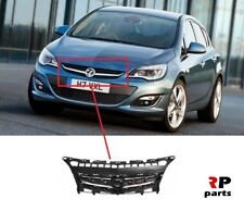 FOR OPEL VAUXHALL ASTRA J 12-15 NEW FRONT BUMPER CENTER GRILL BLACK