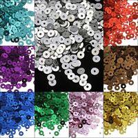 26400 Pailletten Glatt Perlen für Kleidung Schmuck 3mm DIY (110g / 11 farben)