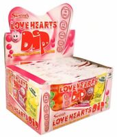 SWIZZELS -LOVE HEART DIP . GORGEOUS---1 Box of 36. FREE POSTAGE