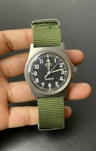 CWC G10 Military Watch - W10 - Royal Army Issued 1997 - Olive Green