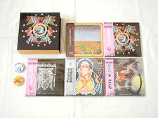 Hawkwind JAPAN 5 titles Mini LP HQCD PROMO BOX 2PIN BAGDE SET