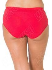 Perizomi, tanga, slip e culottes da donna rossa di cotone