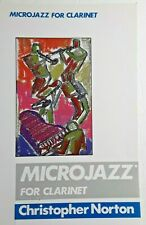 """Microjazz For Clarinet"", By Christopher Norton, With Piano Accompaniment"