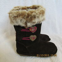 Clarks Girls Kids Snuggle Boots shoes RRP £42 High quality boots Size 7.5 F