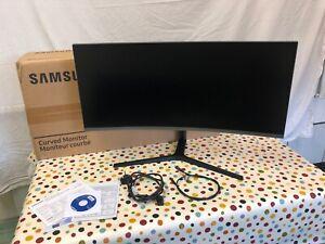 """Samsung C34H890WJU 34"""" Curved Ultra Wide WQHD LED Monitor Screen USB-C"""