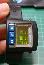 RARE VINTAGE LCD Watch Cabane de Zucca By Seiko W621-4000 LE CHOCOLAT 1997