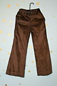 70s vintage Willy's  brown  fine corduroy flares trousers