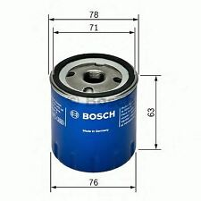ENGINE OIL FILTER OE QUALITY REPLACEMENT BOSCH F026407022