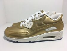Nike Air Max 90 ID Gold Sail 931902-994 Men's Shoes Size 10