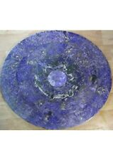 Charoite table top, mosaic, handmade