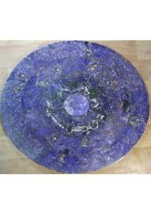Charoite table top, mosaic, handmade