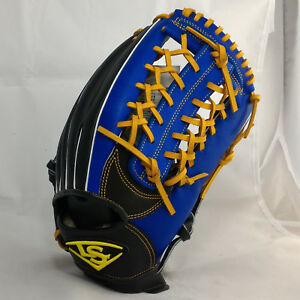"Louisville Slugger Beginner 12.25"" Royal/Black T-Web RHT Outfield Baseball Glove"