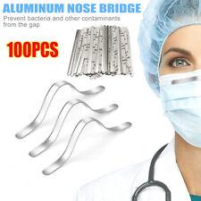 100PCS 85mm Aluminum Strip Nose Bridge Adhesive Face DIY Making Accessories US