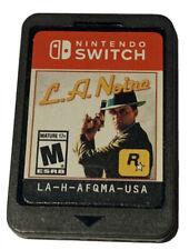L.A. Noire Nintendo Switch game