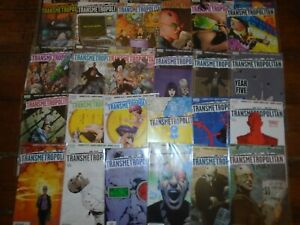 TRANSMETROPOLITAN #37-60 Run to last issue Collection Lot Bundle DC Vertigo