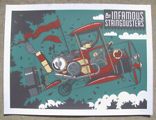 INFAMOUS STRINGDUSTERS 2015 Fillmore - Denver Screen Print 18x24 Concert Poster