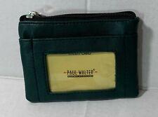 New Women Forest Green Key/coin purse wallet card holder Pocket wallet zippered