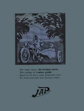 JAP Engines Motorcycle Sales Catalogue 1926 & 1929 one book V Twins and Singles