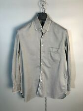 ZILLI Mens Long Sleeve Button Up Collared Shirt Size 41 / L