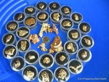 Nice Idaho gold Nugget panning paydirt bullion Dust sluice Prospecting