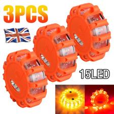 3 x Warning 15 LED Emergency Flare Light Strobe Beacon Road Safety Car Truck
