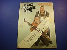Model Airplane News April 1967 Full Size Plans for Free Flight Scale Bob Moore