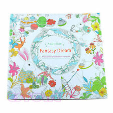 Novelty Unisex Child Adult Fantasy Dream In Art Therapy Colouring Books
