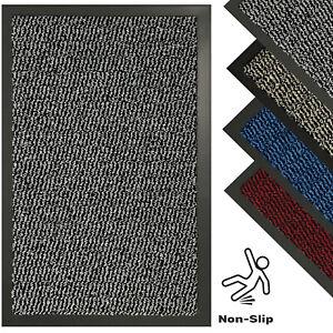 Nonslip Rubber Backed Runner Rug Kitchen Door Floor Mat Indoor Outdoor Doormats
