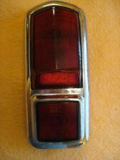 1949-50 Frazer Left Taillight Housing with Glass Lenses