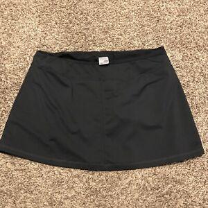 c9 champion womens L black athletic skort polyester blend b5