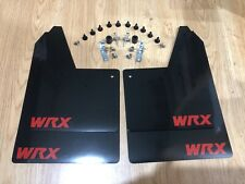 WRX / STI Mud Flaps / Guards 93-00 Classic Saloon & Wagon BLACK, RED