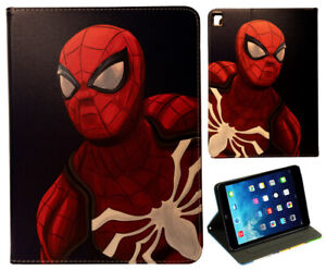 iPad Pro 9.7 / iPad 9.7 / iPad Air 1-2 Venom Spider-man Stand Smart Case Cover