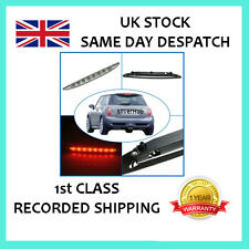 Per Mini Cooper One R50 R53 2001-2006 Chrome 3RD TERZA LUCE FRENO POSTERIORE LED STOP
