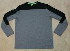 Hugo Boss Green Label Togntech Mens Long Sleeved Shirt - Mens XXL Grey/Black